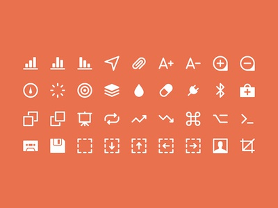 Extra IKONS ui icon psd set icons ikons social collection free freebie glyphs pack