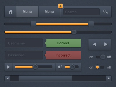 UI Kit ui ui kit gui user interface