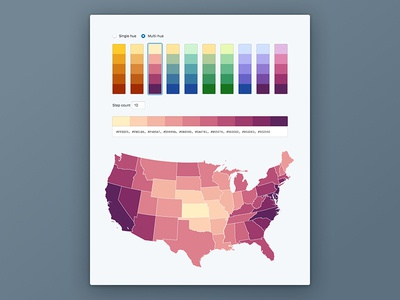 Blueprint Color Schemes visual design data visualization web ux ui toolkit guides style guide palette color scheme colors