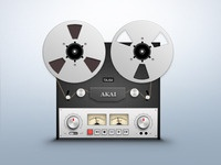 Reel To Reel Player Icon