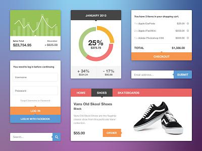 UI Kit ui user interface kit set