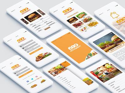Food Ui Ux Design design development app mobile android apps design ui ux