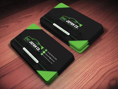 Modern Business Card Design creative design branding proportional company branding modern design businesscard