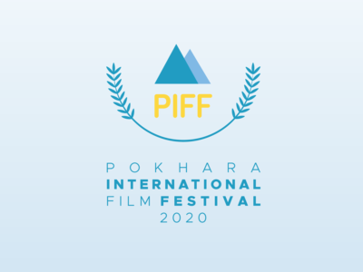 Pokhara International Film Festival Logo and Visual Identity