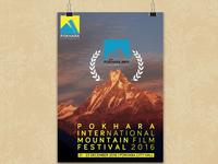 Poster of 2nd Pokhara International Mountain Film Festival