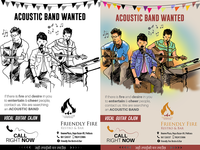 [Advert Design] Acoustic Band Wanted