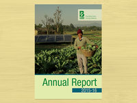 Layout and Design of LI-BIRD Annual Report 2015-16