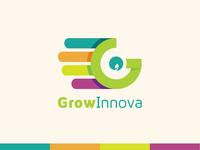 [Logo and Visual Identity Design] GrowInnova Pvt. Ltd.