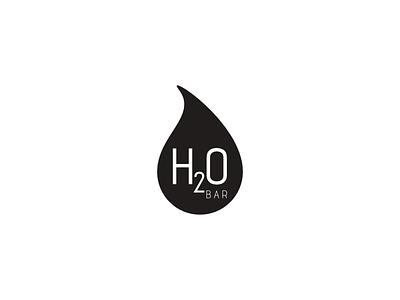 H2O Bar illustration madeira island agency branding branding design logo graphic design creative agency oneline logo trend 2020 trend
