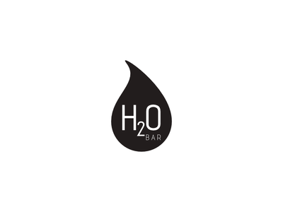H2O Bar illustration madeira island agency branding branding design logo graphic design creative agency oneline logo trend 2020 trend
