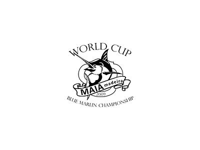 WORLD CUP Blue Marlim Championship icon agency branding illustration design portugal madeira island graphic design creative agency oneline 2020 trend logo