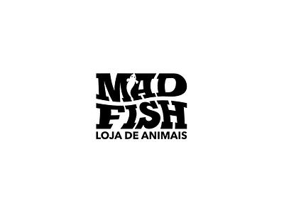MADFISH loja de animais vector icon branding graphic design portugal madeira island design 2020 trend creative agency oneline logo