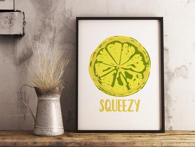 Lemon Squeezy Art Design