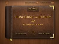 Rememberance book