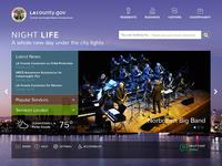 Gov homepage