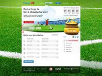 FiverIN website design