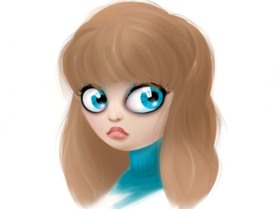 Character design digital art portrate doll cartoon character design illustration cartoon character digital illustration