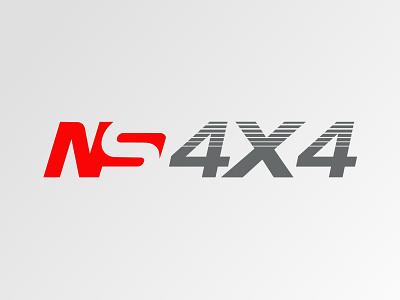 Ns 4x4 logo design adobe xd adobe photo logodesign branding adobe illustrator logo illustration design vector drawing creative art