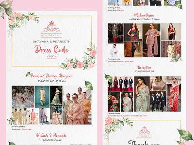 Wedding dress code design ux uidesign graphicdesign design behance dribbble ui