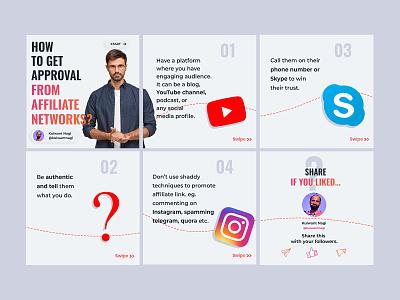Instagram post slides design art ux ui logo drawing design creative branding illustration vector dribbble instagram post