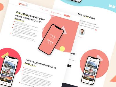 App service landing page ui mobile ux ui logo branding illustration vector art drawing design creative wetemplet website pages landing