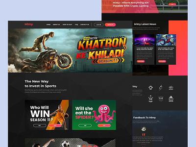 Betting-Website design ux art logo graphic design motion graphics 3d animation ui branding illustration vector drawing design creative