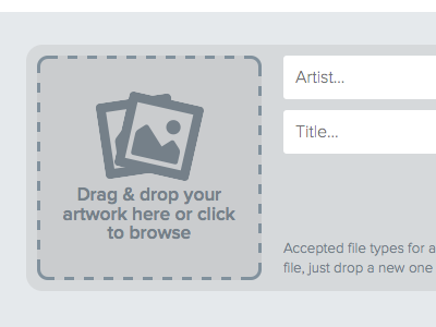 File upload drag drop file upload web ui flat