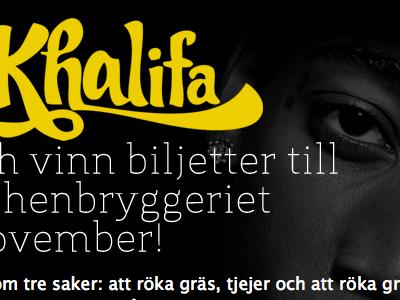 Wiz Khalifa campaign