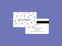 Penelope's Gift Card