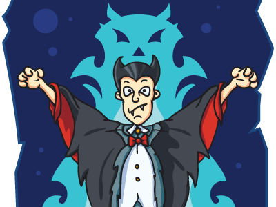 Free Vector Vampire free vector vampire character illustration freebie download ai scarry halloween dracula transylvania