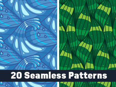 20 Abstract Seamless Line Patterns