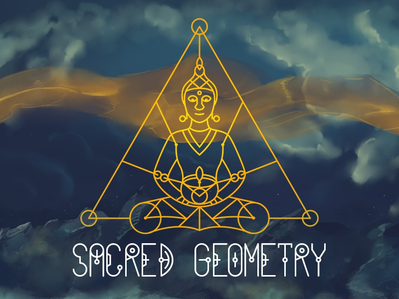 100 sacred geometry symbols by pixaroma dribbble