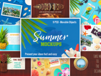 9 Summer Mockups