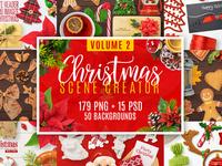 Christmas Scene Creator Volume 2