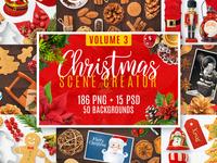 Christmas Scene Creator Volume 3