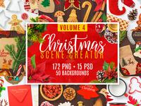Christmas Scene Creator Volume 4