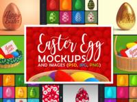 Easter Egg Mockups and Images