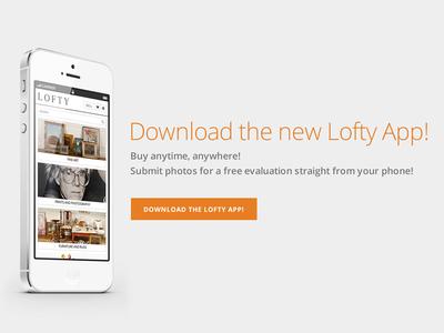 Lofty iOS App lofty ios app ios app design application user interface iphone 5 ui user experience ux ios design