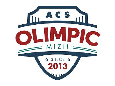 ACS OLIMPIC MIZIL handball team logo design logo design sports sport team