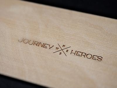 Journey Heroes Logo branding heroes journey adventure journey heroes design logo design logo