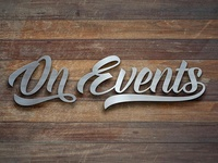 On Events / On Wedding new Logos