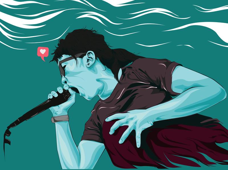 vocal illustration