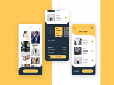 Shopping ui home screen home page shopping cart app design ui white uidesign ui design design adobe xd ecommerce shop app shopping app shopping ecommerce app ecommence