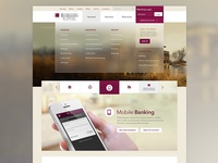 Banking Home Page