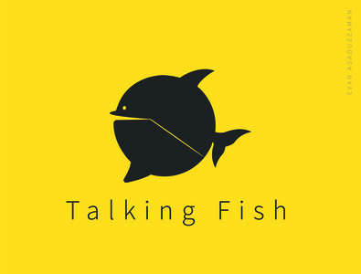 Talking Fish Logo (Chat Icon)
