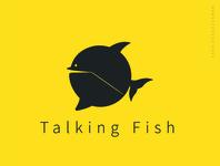 Talking Fish Logo (Chat Icon)