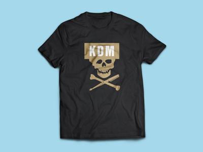 Kali Denali Music kdm tshirt design