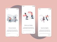 Onboarding Screen - Dating App