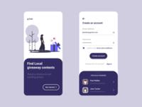 Giveaway Finder app