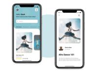 Dance Learning App UI